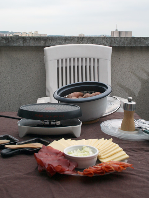 raclette outdoor