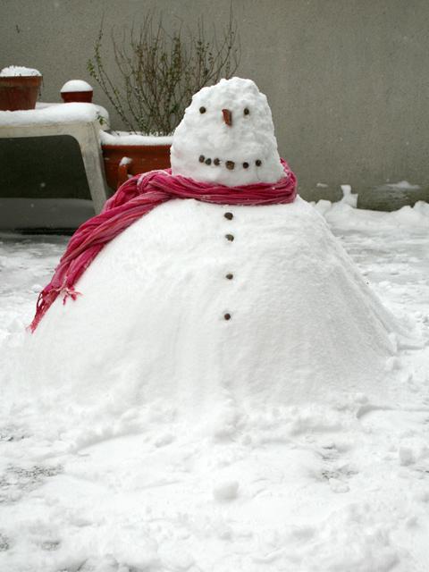 bonhomme de neige toulousain