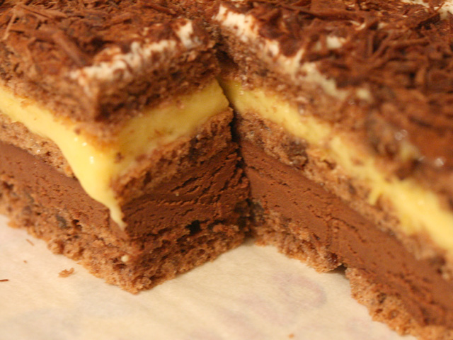 gteau chocolat citron